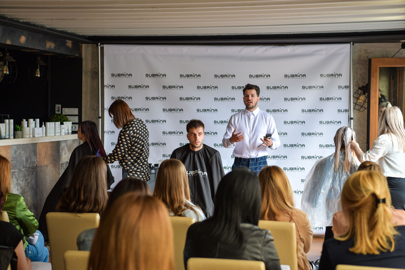 Subrina professional seminar za frizere održan u Galiji