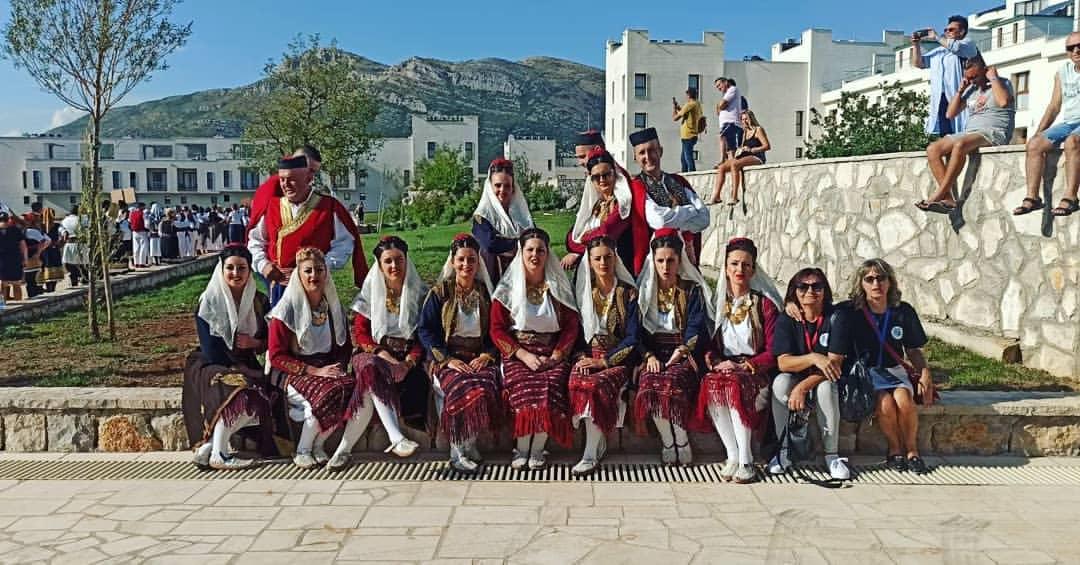 """""""Treća smotra folklornih ansambala veterana Trebinje 2021"""" održana u Koloseumu u Gradu Sunca"""