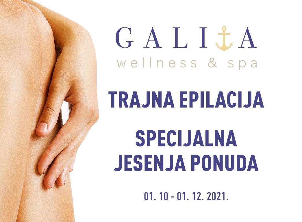 Specijalna jesenja ponuda – Trajna epilacija